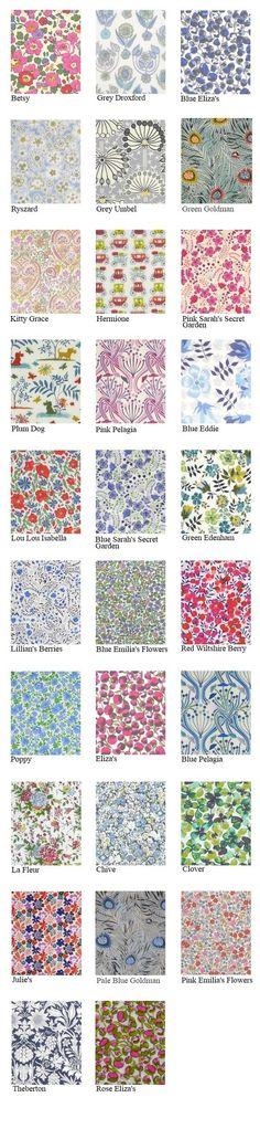Liberty Lawn Prints: