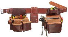 Occidental Leather 8581 FatLip Fastener Screw Nail Bag Holder