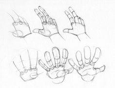 Aprende a dibujar manos paso a paso con este sencillo tutorial.