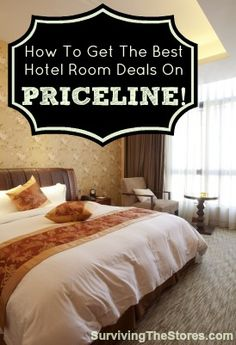 The secret for how to get rock bottom hotel room prices on Priceline!!  Don't ever pay full price for a hotel room again!  Here's the system to follow to get the absolute rock bottom deals...