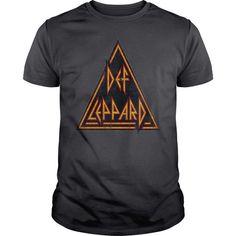 Def Leppard Distressed Logo #sunfrogshirt