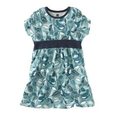 Tea Collection Baby-girls Infant Life In The Trees Banded Dress