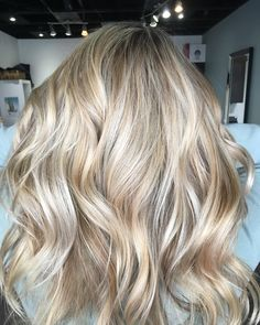 "54 Likes, 8 Comments - Grande Prairie Hairstylist (@majorhairdesign) on Instagram: "" holy moly Batman that's a beauty blonde! She actually used to be a balayage only client but we…"""