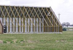 Bradford Research Center // Passive Solar Greenhouse Buy Greenhouse, Diy Greenhouse Plans, Passive Solar, Bradford, Outdoor Structures, Greenhouses, Farming, Gardening, Projects