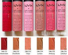 Nyx Soft Matte Lipstick Amsterdam