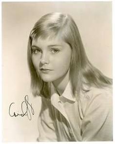 We all wanted to look like Carol Lynley.