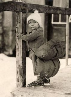 Vintage Ice Skating    .........It is that cold up here..... And lucky me, my skates are to small...