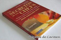 Los secretos de los Chef, el libro que no puede faltar en tu cocina