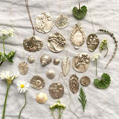 Image result for how to make botanical molds for use with precious metal clay