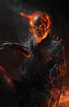 Ghost Rider - Created by Benny Kusnoto