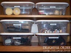 Delightful Order: Kitchen Command Center