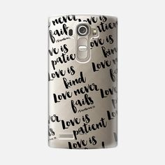 @casetify sets your Instagrams free! Get your customize Instagram phone case at casetify.com! #CustomCase Custom Phone Case | LG G4 | Casetify | Typography | Black & White | Transparent  | Noonday Design