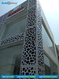 BuildDirect Africa - Laser Cutting and CNC Routing Laser Cut Aluminum, Laser Cut Metal, Laser Cutting, Facade Design, Exterior Design, Architecture Design, Laser Cutter Projects, Cnc Projects, Building Exterior