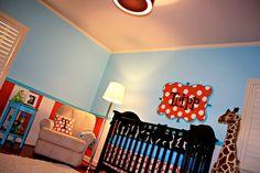 Modern Bright Boy Nursery