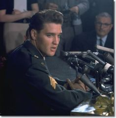 remember when...Elvis Presley : The Press Conference, Fort Dix, March 3, 1960.