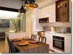 AyA Kitchens | Canadian Kitchen and Bath Cabinetry Manufacturer | Kitchen Design Professionals - Chelsea White High Gloss in Urban Moda