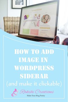 How to Add An Image in WordPress Sidebar and make it clickable