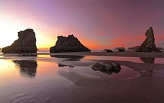 https://flic.kr/p/qDPYCp | Colors Of Bandon | Bandon, Oregon. I was treated to these beautiful colors just after sunset during my visit to Bandon last month.  This is one of those places I love going back to photograph time after time... Have a great weekend! The views, comments and faves are always appreciated!