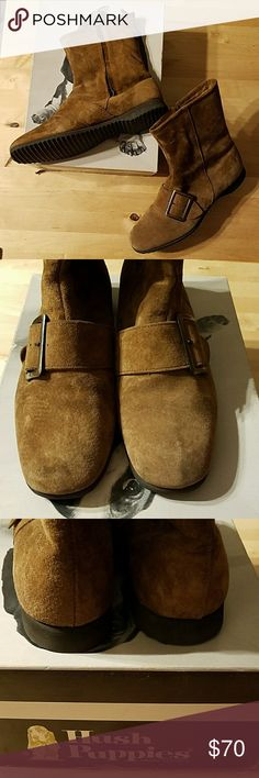 Hush Puppies Vintage booties Hush Puppies Vintage leather booties. Never worn still in original box. Hush Puppies Shoes Ankle Boots & Booties