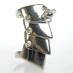 """""""the well worn Vivienne Westwood ring"""" from Nana - gunmetal armour ring"""