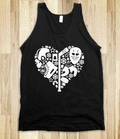 Hockey Heart (dark)