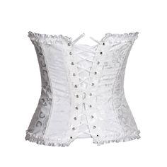 Bridal Corset, Corset Outfit, Dress Form Mannequin, White Corset, Clothes Pictures, Lace Up, Plus Size, Women's Corsets, Fashion Outfits