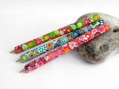 Kugelschreiber -  Blüten Kugelschreiber Polymer Clay Millefiori ... - ein Designerstück von filigran-Design bei DaWanda