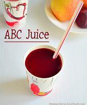 ABC juice recipe/Miracle drink with its health benefits Dosa Recipe, Sambhar Recipe, Coconut Chutney, Garlic Chutney, Abc Juice, Eggless Orange Cake, Date Cake, Chutney Recipes, Fennel Seeds