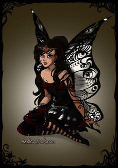 dark fairy grettings - Google Search