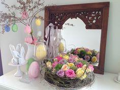 easter eggs and roses❖ovos de Páscoa e rosas