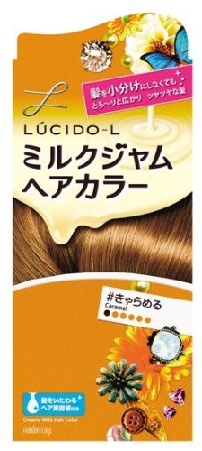 Mandom Lucido-L Creamy Milk Hair Color - Caramel ** This is an Amazon Affiliate link. Details can be found by clicking on the image.