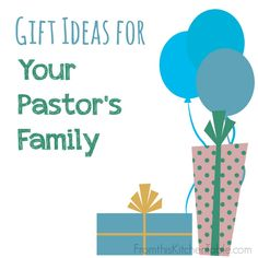 Serve your pastor by serving his family!