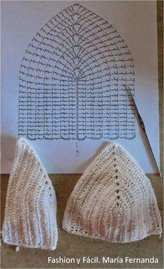 Top crop top crochet patrones todo patrones crochet gratis paso a paso esquema y graficos: como hacer copa de top WKTEAMD