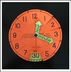 """FREE MATH LESSON - """"Telling Time: Clock Templates and Foldables"""" - Go to The Best of Teacher Entrepreneurs for this and hundreds of free lessons. Kindergarten - 5th Grade http://www.thebestofteacherentrepreneurs.net/2016/12/free-math-lesson-telling-time-clock.html"""
