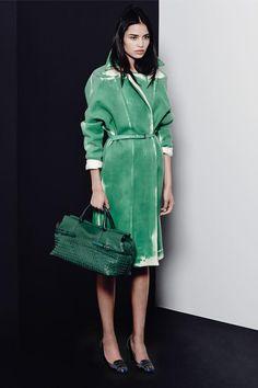 Cool coat from the last collection of Bottega Veneta