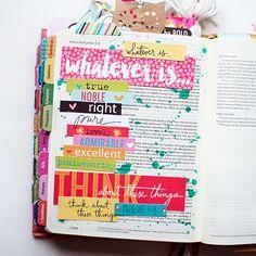 My favorite Bible journaling supplies