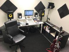 Logic Pro X, Ableton Live, Home Studio Music, Corner Desk, Photos, Furniture, Home Decor, Music Studios, Corner Table