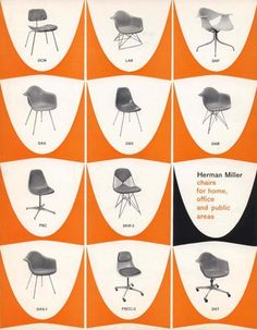 Herman Miller Chairs For Home Office And Public Areas Vintage Ad Millermid Century Modern