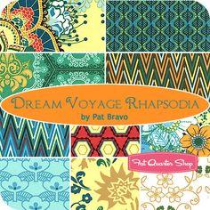 Dream Voyage Rhapsodia Fat Quarter Bundle