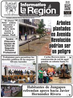 Lea la Edición impresa digital No. 2181 #Zitácuaro, Mich. 28/Junio/2017. http://issuu.com/laregionenlinea/docs/laregion2181/1 #Michoacan