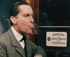 Jeremy Brett's infinitely sexy Sherlock Holmes disregards more of those law things.  Older law things.  All the law things.
