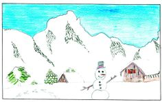 THURSDAY'S WEATHER FORECAST: Sunshine and 33 degrees. Jaden Nielsen, age 11, of Missoula drew the weather picture Christmas Day. Weather art from Montana kids runs every day in the Missoulian.