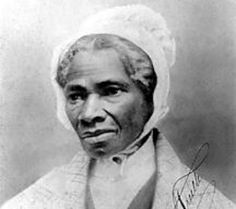 """I have borne 13 children, and seen most sold off to slavery. And when I cried out with a mother's grief, none heard me but Jesus!"" quote from ""Ain't I A Woman?"" by Sojourner Truth"