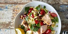 """This tasty dish is quick enough to make mid-week and comes from Daniel Green's cookbook Paleo Monday to Friday. Daniel says """"I love the textures in this salad. Try and use the freshest sweetcorn you can find as then there is no need to cook it and it's deliciously sweet and crunchy""""."""