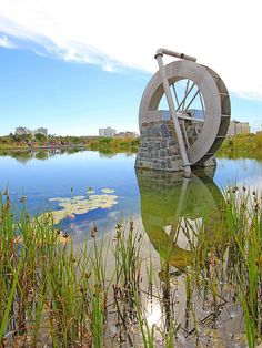 Water Wheel at Green Point Park