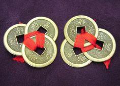 Feng Shui. Poderosos amuletos chinos. Simbolizan la riqueza, la prosperidad, la abundancia y el poder. Su energía deriva de las formas consagradas en ellas.