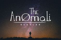 The Anomali lite font is a hand painted typeface for personal use.