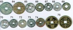 The China Exchange - Ancient Chinese Coins Selection List Asian History, Feng Shui, Old Photos, Coins, Bronze, Crafts, Purse, Craft Ideas, Old Pictures