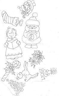 Riscos de Bordado Vintage de Natal - Moldes e Apostilas #riscosdebordado #bordadovintage #graficodebordadodenatal #moldesdebordado #bordadofacil #desenhosdebordado #bordadeiras #fazerbordado #bordadoemtecido #moldesdenatal #barradinho #casseado #barradinhodecroche #telaparabordar #bordadoemtela #bordadoempanodeprato #natal #toalhademesa #toalhadebanho
