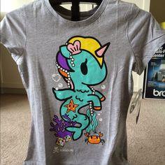 tokidoki mermaid unicorno tshirt